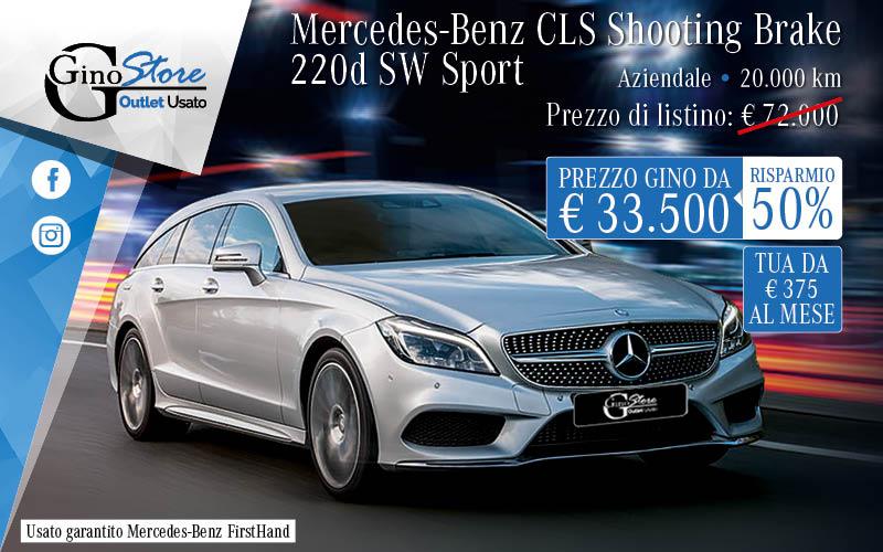 Ginostore Mercedes CLS