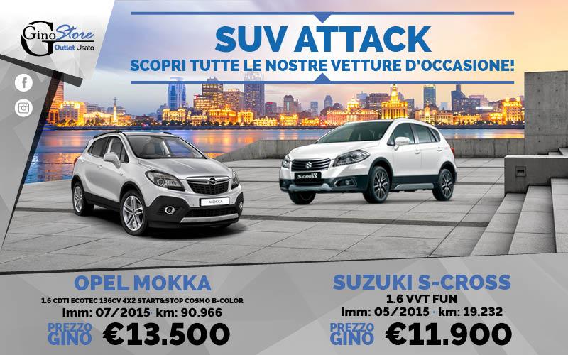Ginostore SUV Attack
