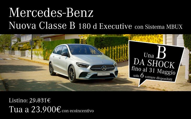 Mercedes Nuova Classe B