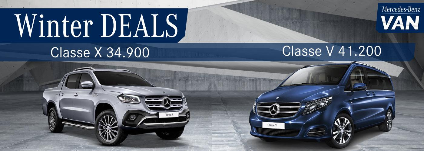Mercedes Classe X e V