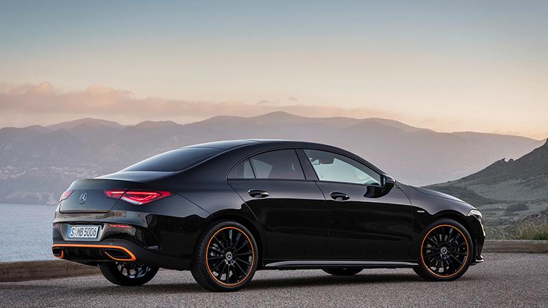 Nuova Mercedes CLA Coupé