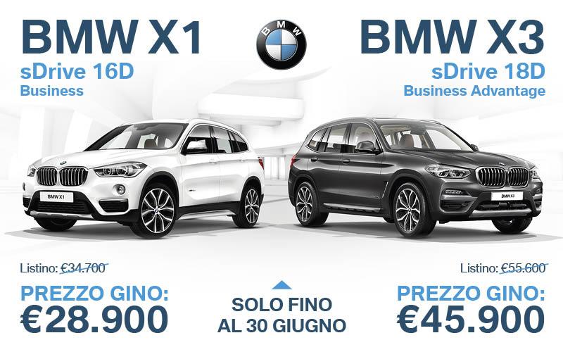 BMW X1 e X3