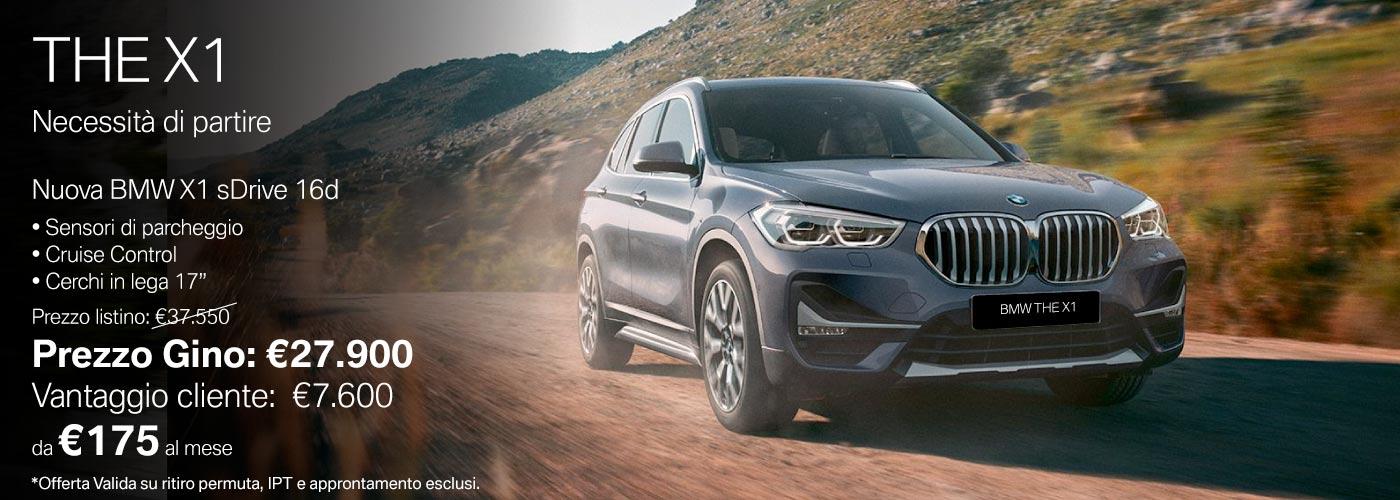 Nuova BMW THE X1