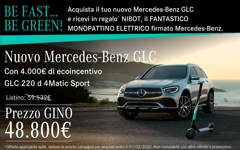 Mercedes GLC Nuova